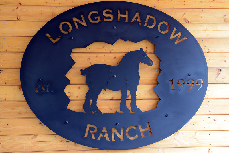 Long shadow Ranch sign in Temecula