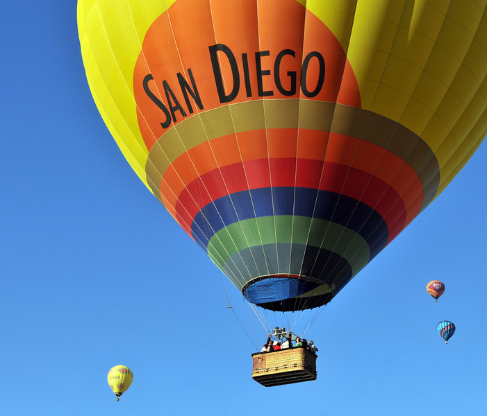 Balloon festival in Temecula
