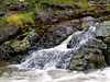 A small cascade beside one of the main falls at Kap-Kig-Iwan Provincial Park, Englehart, Ontario