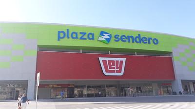 Plaza Sendero in Tijuana. Huge acres and acres. Nice modern mall.