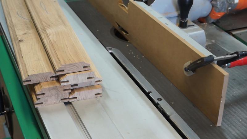Sticking rails and stiles