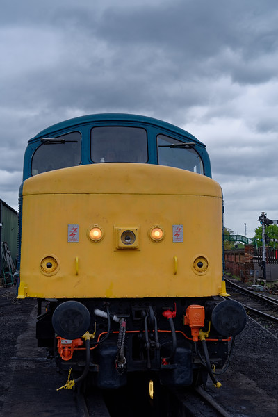 45132 on static display at North Weald, on 27th April 2019.