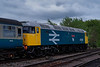 47635 arrives at North Weald on the rear of the 13:48 Epping Forest - Ongar, <br /> on 27th April 2019.
