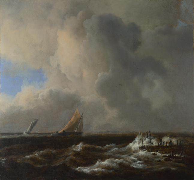 Vessels in a Fresh Breeze