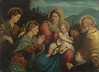 The Holy Family with Saints and a Donor