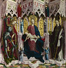 The Virgin and Child Enthroned with Angels and Saints