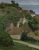 House on the cliffs near Fécamp