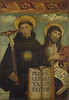 Saints Nicholas of Tolentino and John the Baptist