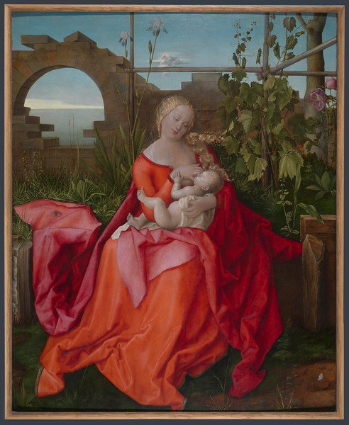 The Virgin and Child ('The Madonna with the Iris')