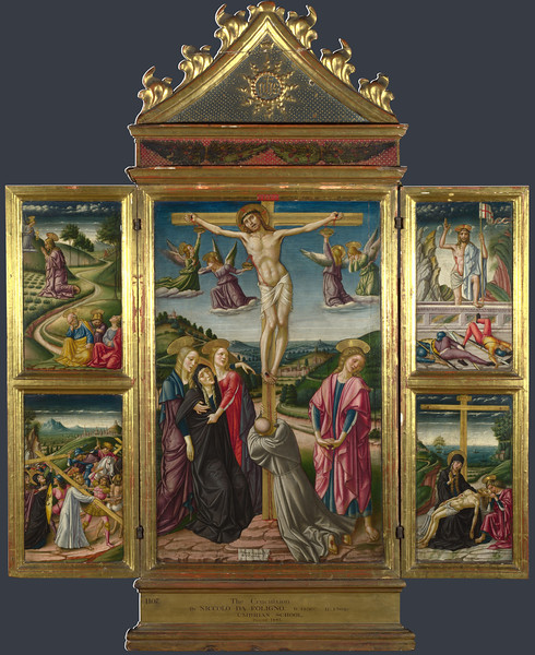 Christ on the Cross, and Other Scenes