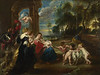 The Holy Family with Saints in a Landscape