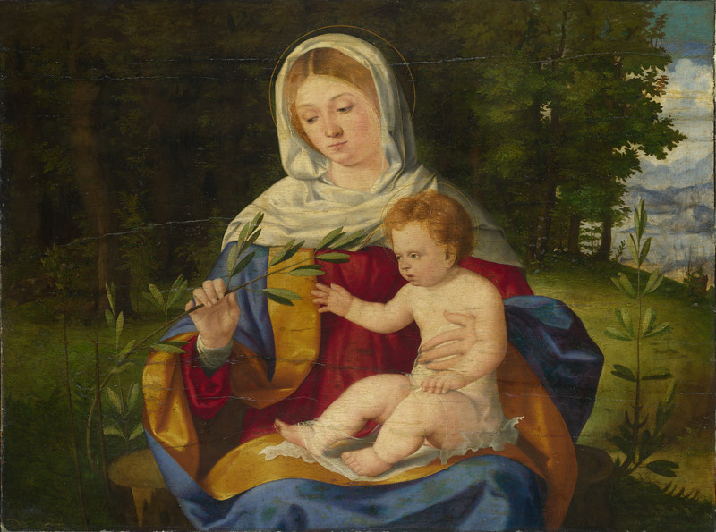 The Virgin and Child with a Shoot of Olive
