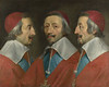 Triple Portrait of Cardinal de Richelieu