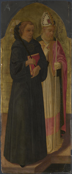 A Bishop Saint and Saint Nicholas of Tolentino