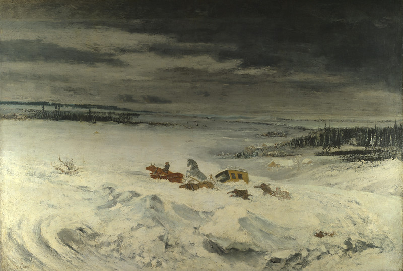 The Diligence in the Snow