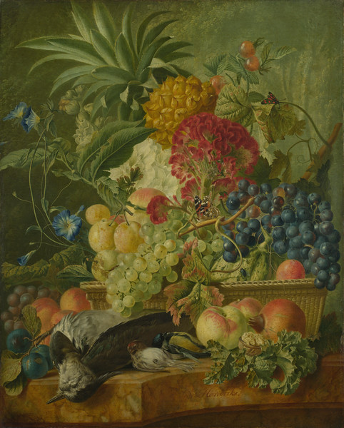 Fruit, Flowers and Dead Birds