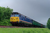 50027 at Stable Lane with the 10:40 Alton - Alresford, on 1st June 2018.