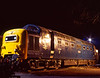 "The night before the Gala, 55015 ""Tulyar"" in the yard at Ropley. 3rd March 1995. <br /> Scanned Transparency."