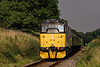 31271 passes the Wanders Crossing whistle board, with the 15:40 Alton - Alresford, <br /> on 6th September 2014.