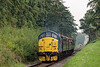 37324 passing through the Pine Trees, with the 10:20 Alton - Alresford, <br /> on 6th September 2014.