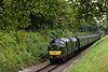 37905 passes through the Pine Trees, with the 11:00 Alton - Alresford, <br /> on 5th September 2014.