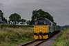 31271 at Wanders Crossing, with the 13:40 Alton - Alresford, on 5th September 2014.