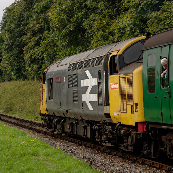 37901 approaching College Crossing, with the 11:00 Alton - Alresford, <br /> on 6th September 2014.