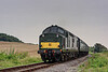 37905 at Northside Lane, on the rear of the 15:55 Alresford - Alton, on 5th September 2014.