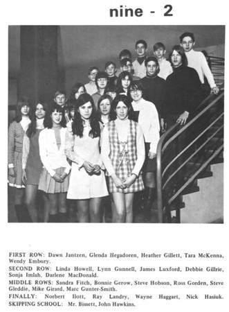 Baden Senior School 1969-1970 Partial Yearbook