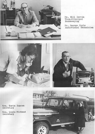 Baden Senior School 1977-1978 Partial Yearbook