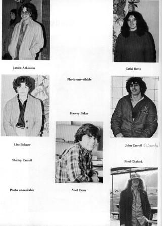 Baden Senior School 1979-1980 Partial Yearbook