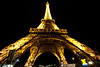 PLACES in France, Eiffel at midnight