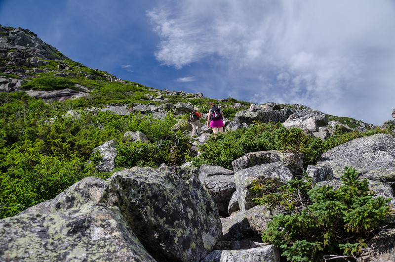 its a warm day and en enjoyable climb up the Cathedral Trail.