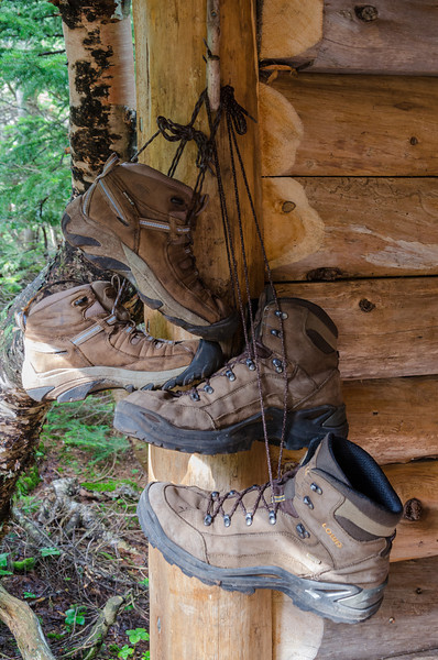...we hang our boots and relax after a long day.