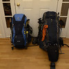 Food and gear all packed and ready to roll