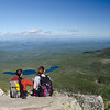 We pause to enjoy yet another amazing view of Baxter State Park.