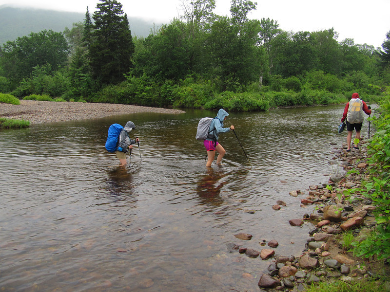 An early river crossing.