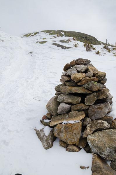 Steep to the summit