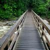 Bridge entering the Pemigewasset Wilderness