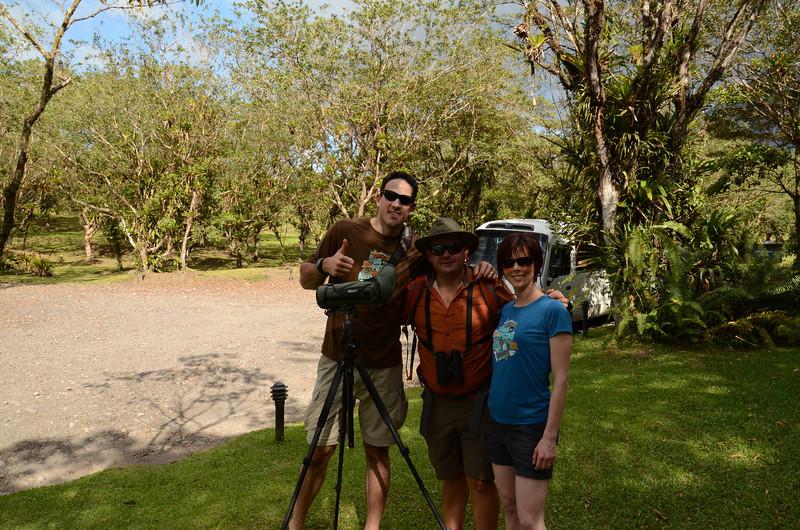 Me, Jess, and Alex after the hike