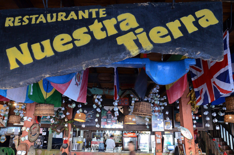 After arriving in San Jose we dropped our stuff at the Hotel and went out in search of Costa Rican food. Nuestra Tierra had great food and the BEST coffee I have ever had.