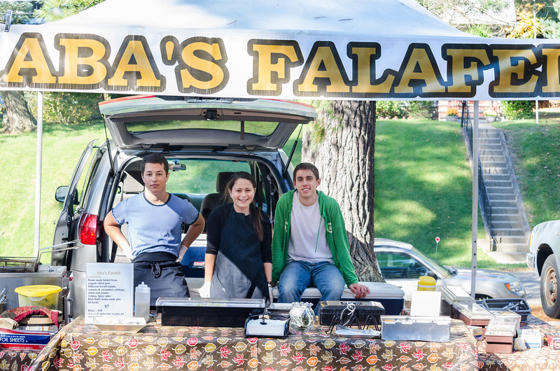 These guys made by far the BEST falafel I have ever had!