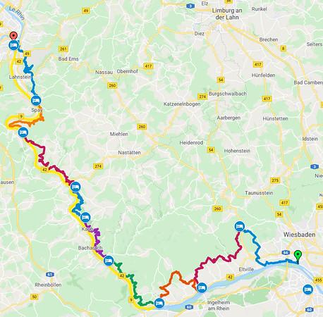 Itinérances - 2018 - Rheinsteig