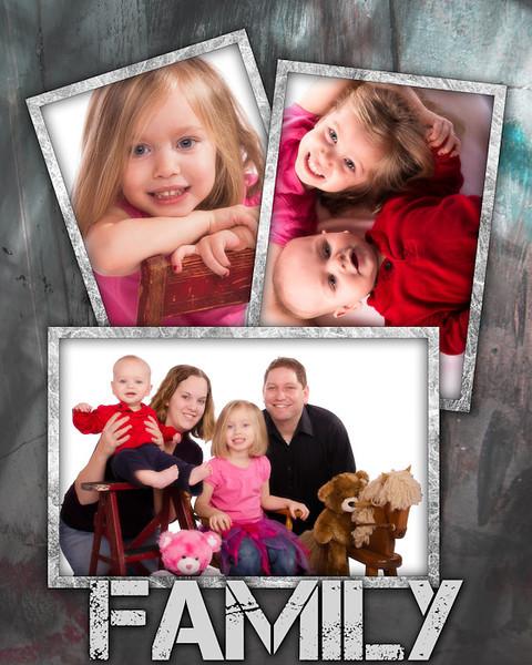 Family 8 x 10
