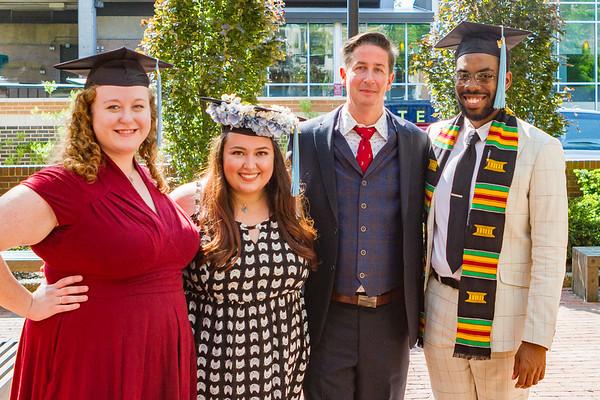 Temple Graduation 2018  Master's Degree
