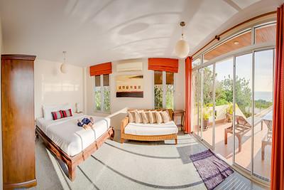 Six bedroom Temple House Villa Master bedroom, Kantiang Bay, Ko Lanta