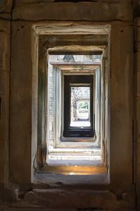 Stone doorways at Banteay Samre