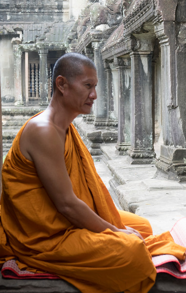 Monk at rest