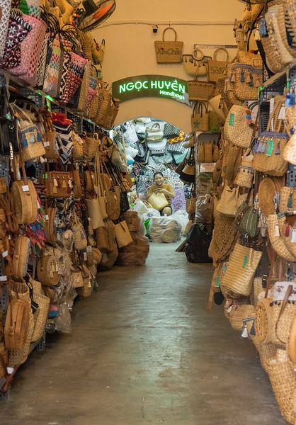 Happy Handbag Shopkeeper
