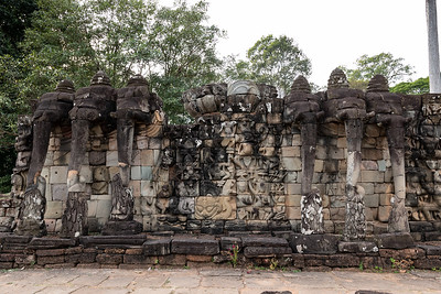 2019, Cambodia, Angkor Park, Terrace of the Leper King